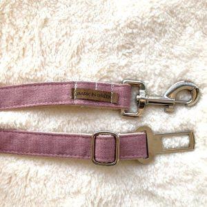 seat belt for pets color pink